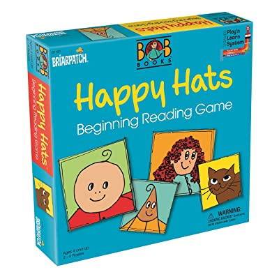 Bob Books Happy Hats Beginning Reading Game Line: Toys & Games