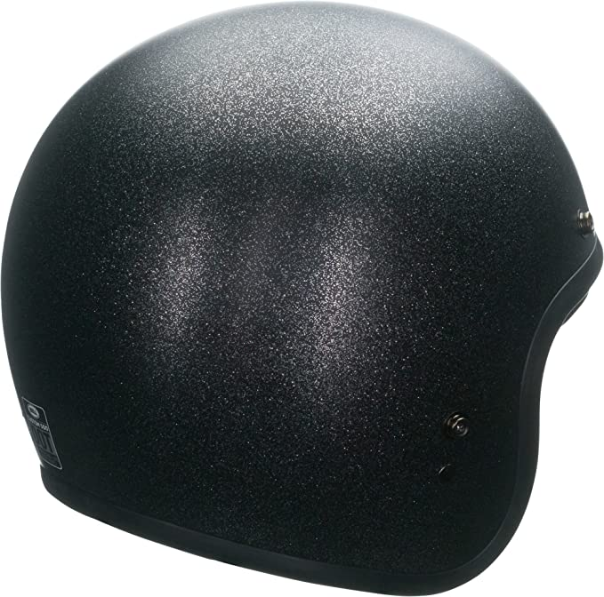 Amazon.com: Bell Solid Custom 500 Cruiser Motorcycle Helmet - Black Flake/X-Large: Automotive