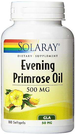 Amazon.com: Solaray Aceite de Onagra de alta potencia, 500 ...