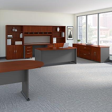 Pleasant Amazon Com Bush Business Furniture Series C Executive Home Interior And Landscaping Spoatsignezvosmurscom