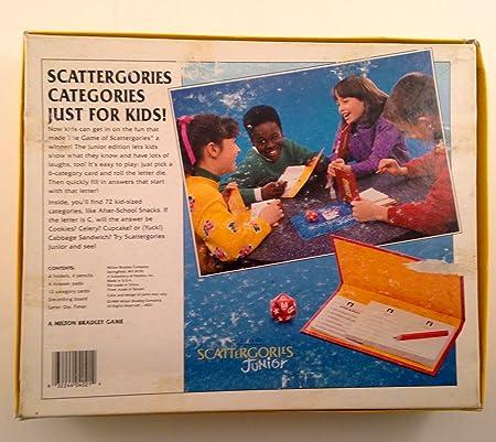 Scattergories Junior by Scattegories Junior: Amazon.es: Juguetes y juegos