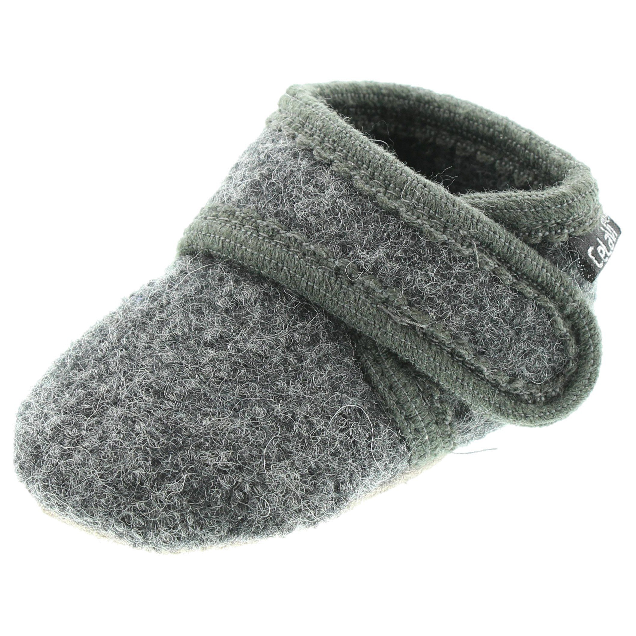 CeLaVi Wool Soft Shoe - Deep Stone Grey