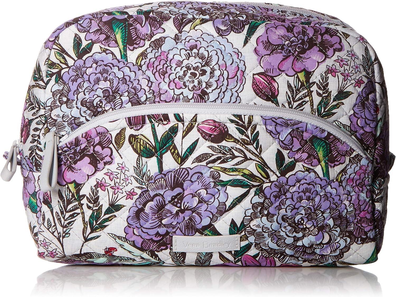Vera Bradley Women's Signature Cotton Large Cosmetic Makeup Bag