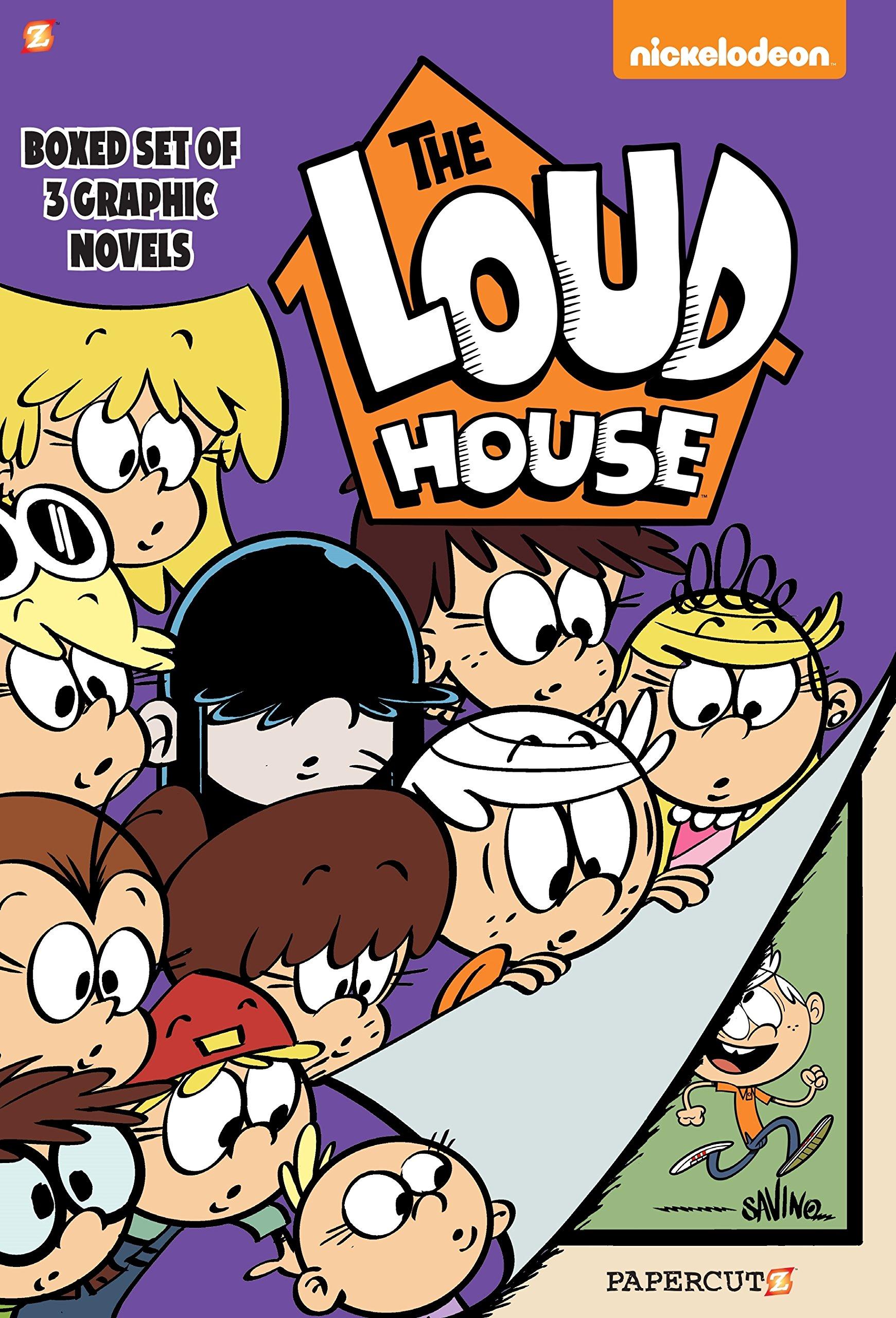 Read Online The Loud House Boxed Set: Vol. #1-3 ebook
