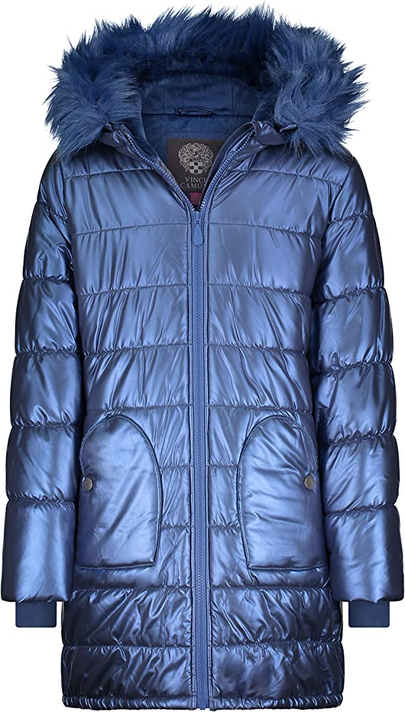 Vince Camuto girls Warm Hooded Puffer Jacket Coat