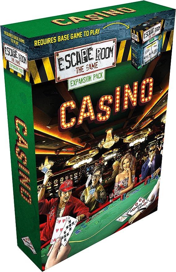 Identity Games Escape Room The Game Casino Adultos Juego de Pensamiento Lateral - Juego de Tablero (Juego de Pensamiento Lateral, Adultos, 60 min, Niño/niña, 16 año(s), 99 año(s)): Escape Room: Amazon.es: Juguetes