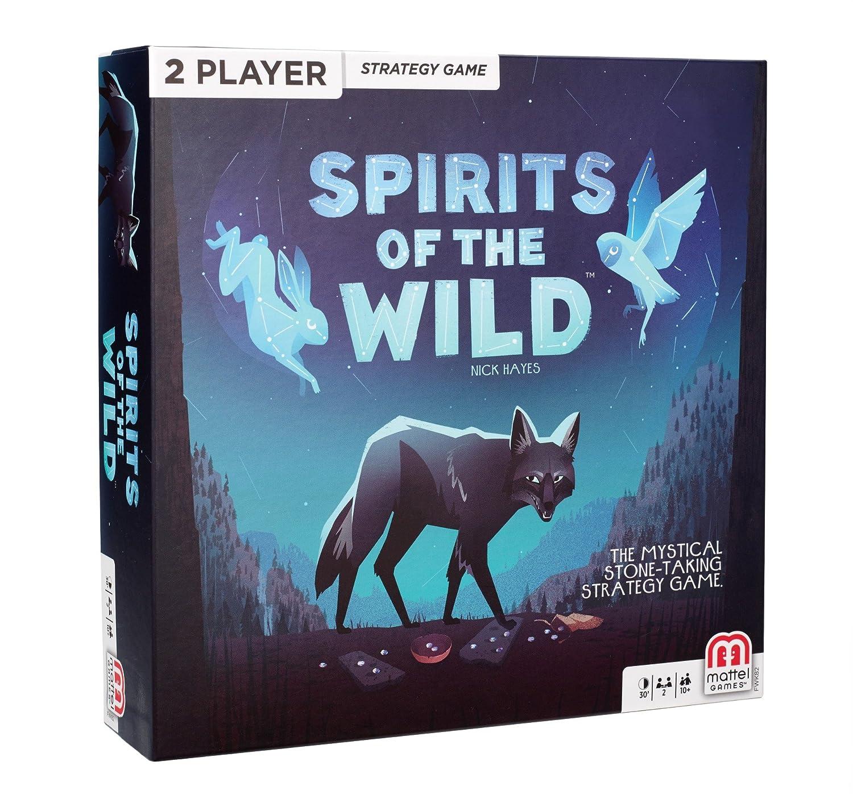 Mattel Games Spirits Of The Wild Card Game