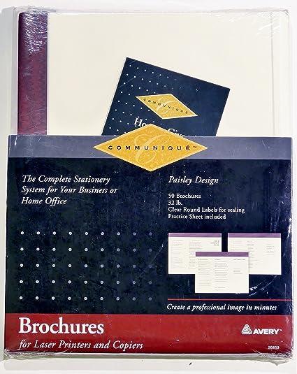photo relating to Printable Tri Fold Brochures titled : Communique Printable Tri-fold Brochures w