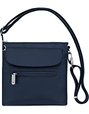 Travelon Anti-Theft Classic Mini Shoulder Bag, One Size, Midnight