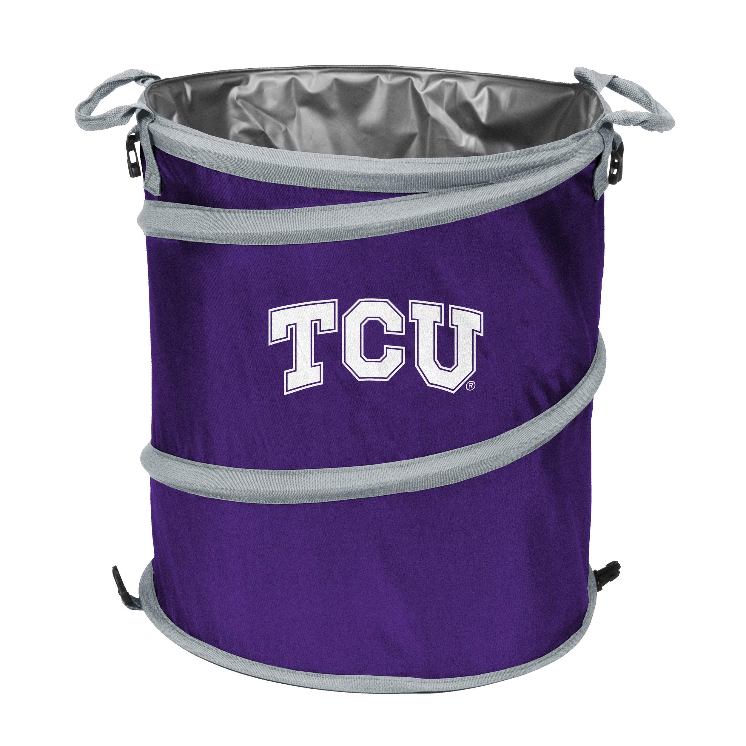 Logo Brands NCAA TCU Collapsible 3-in-1, Multi, One Size