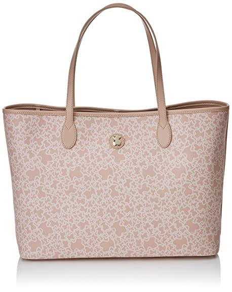 7c27946d9 TOUS Large Pink Canvas KAOS Mini Tote Bag 795800014: Amazon.ca: Shoes &  Handbags