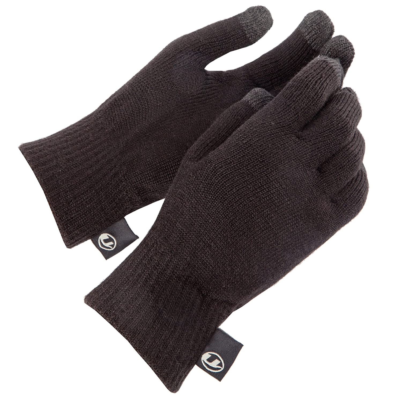 Ultrasport Guanti in lana funzione touchscreen per qualsiasi dispositivo e con display ampio