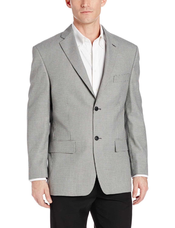 Haggar Men's Houndstooth Sport Coat at Amazon Men's Clothing store: