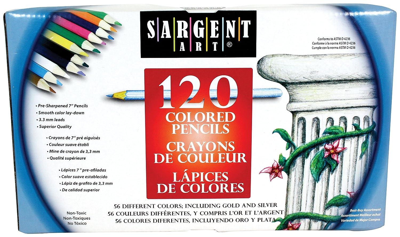 SSilber Art 120 Piece Assortment ColGoldt Pencils (22-7252) B01LTHOR74 B01LTHOR74 B01LTHOR74 | Zart  f01b10