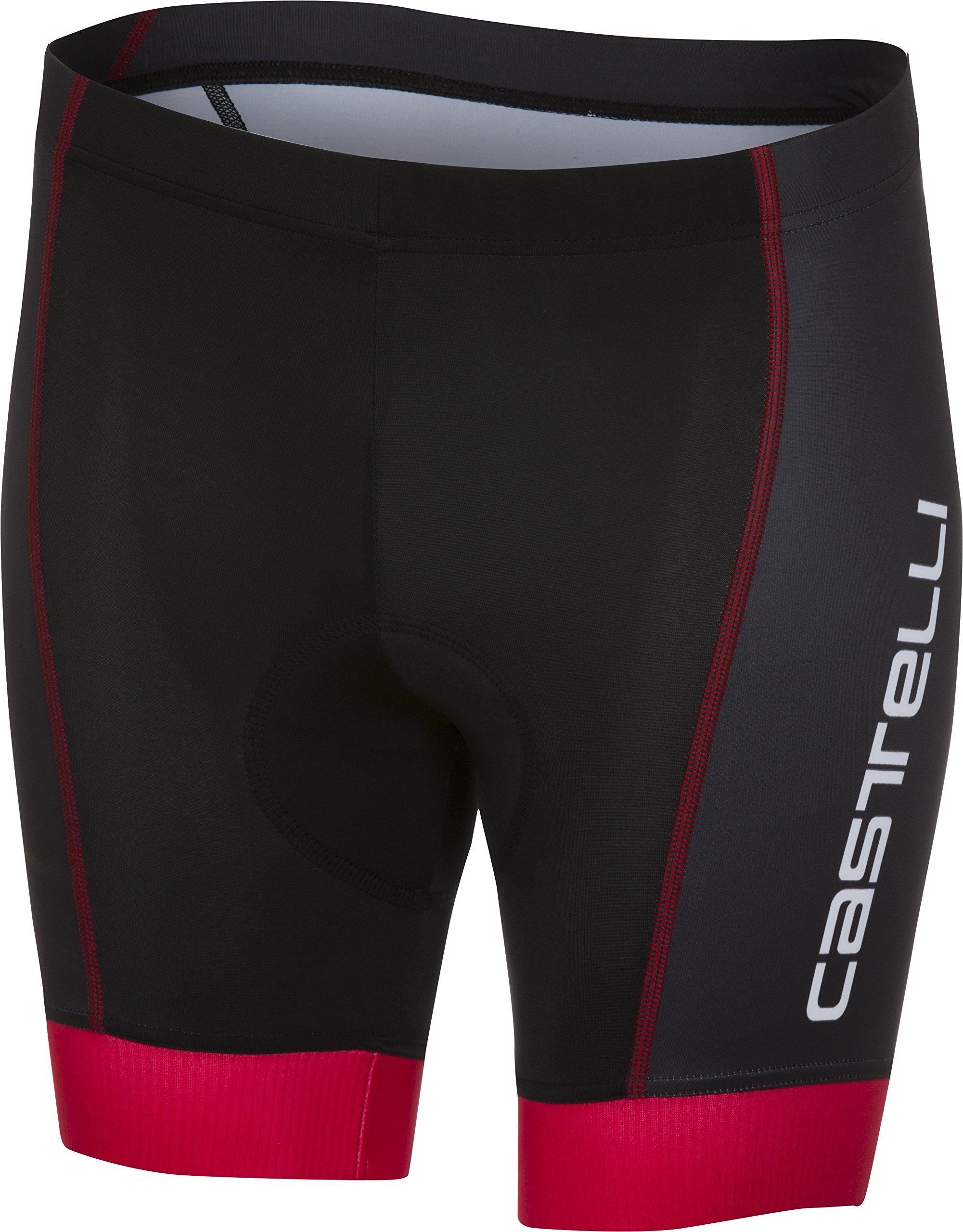 Castelli Future Racer Kid Short Black/Red Size YS