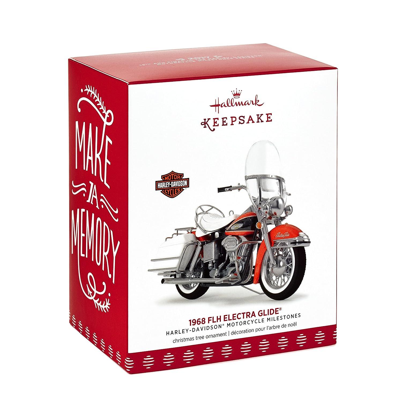 Hallmark Keepsake 2019 Harley-Davidson 1968 Flh Electra Glide Dated Christmas Ornament Amazon.com: Hallmark Keepsake 2017 Harley Davidson 1968 FLH