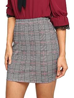 e0f251213 ASTR the label Women's Raye Plaid Mini Skirt at Amazon Women's ...