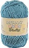 Bernat Small Polyester Baby Blanket Ball of Yarn, Baby Teal