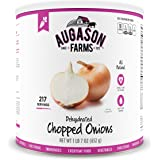 Augason Farms Dehydrated Chopped Onions #10 Can, 23 oz