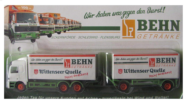 Behn Getränke Nr.05 - Wittenseer Quelle - MB Actros - Hängerzug ...
