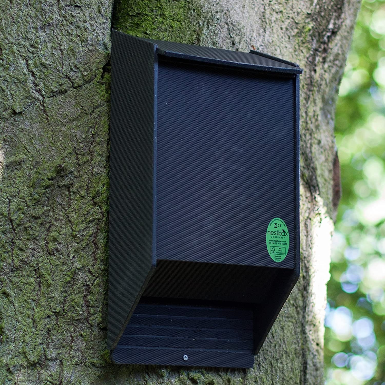 Eco Bat Box with Cavity Roosting Chamber Nestbox Co
