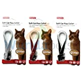 BEAPHAR GLITTER CAT KITTEN FLEA TREATMENT COLLAR WITH BELL 3 PACK UP TO 1 YEARS PROTECTION
