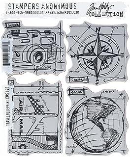 Stempel Anonymous/_agw Fensterfilm Anzahl Steine Mounted Stamp