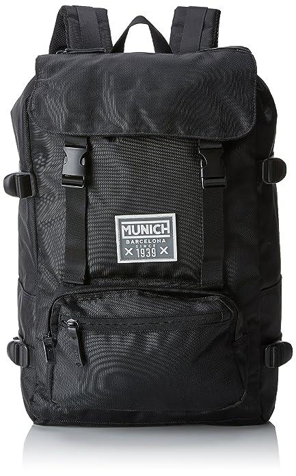 Munich 650015, Mochila Unisex Adultos, Negro (Black), 18x40x33 cm (W x H x L): Amazon.es: Zapatos y complementos