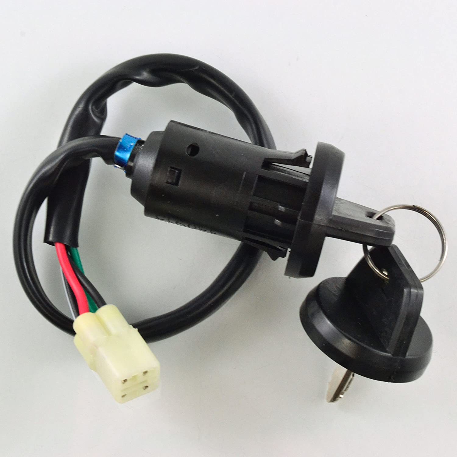Two Position Ignition Key Switch For Honda TRX 450 TRX450R TRX450ER 2004-2014 OEM Repl.# 35100-HP1-003 RMSTATOR