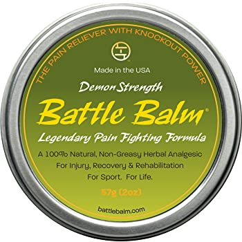 Amazon white flower analgesic balm 20 milliliter 067 ounces demon strength pain relief 2 ounce battle balm all natural and organic topical analgesic for arthritis muscle soreness sprains strains and more mightylinksfo