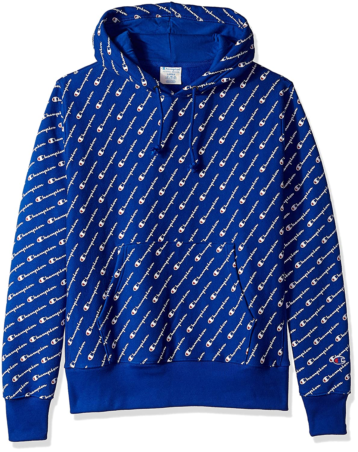 a00eb52f4476 Champion Mens Reverse Weave Pullover Hood-Print Hooded Sweatshirt:  Amazon.ca: Clothing & Accessories