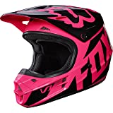 Fox Racing 2017 Race Adult V1 Motocross Motorcycle Helmets - Pink / Large