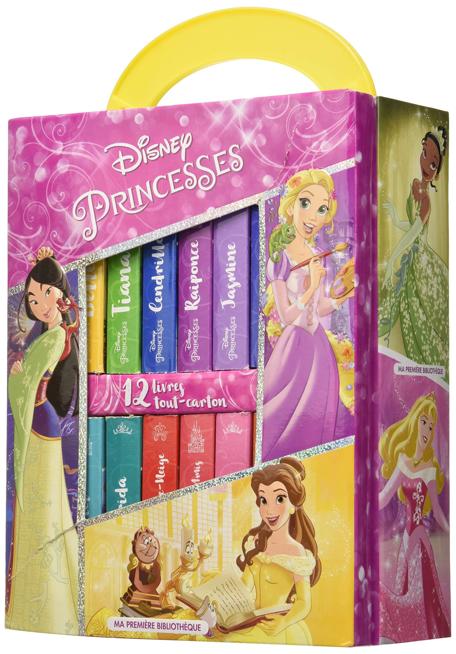Disney Princesses 12 Livres Tout Cartons 9781503741119