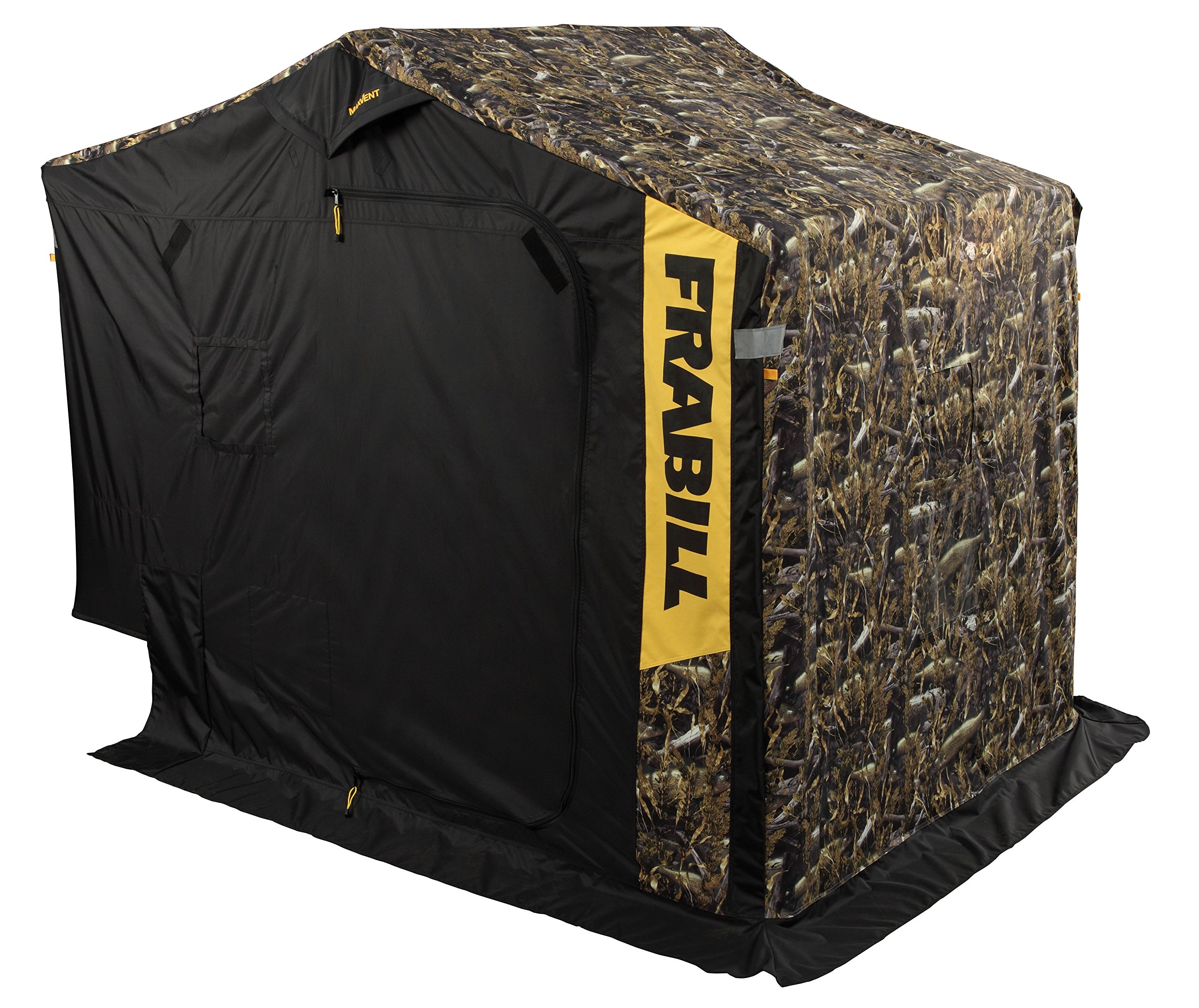 Frabill 6154 Fishouflage Ambush DLX Shelter with Side Door by Frabill