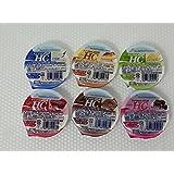 Nestle(ネスレ) アイソカル ジェリー HC アソート6種類パック (とうふ味・スイートポテト味・あずき味・チョコレート味・きなこ味・黒糖風味・各1個)