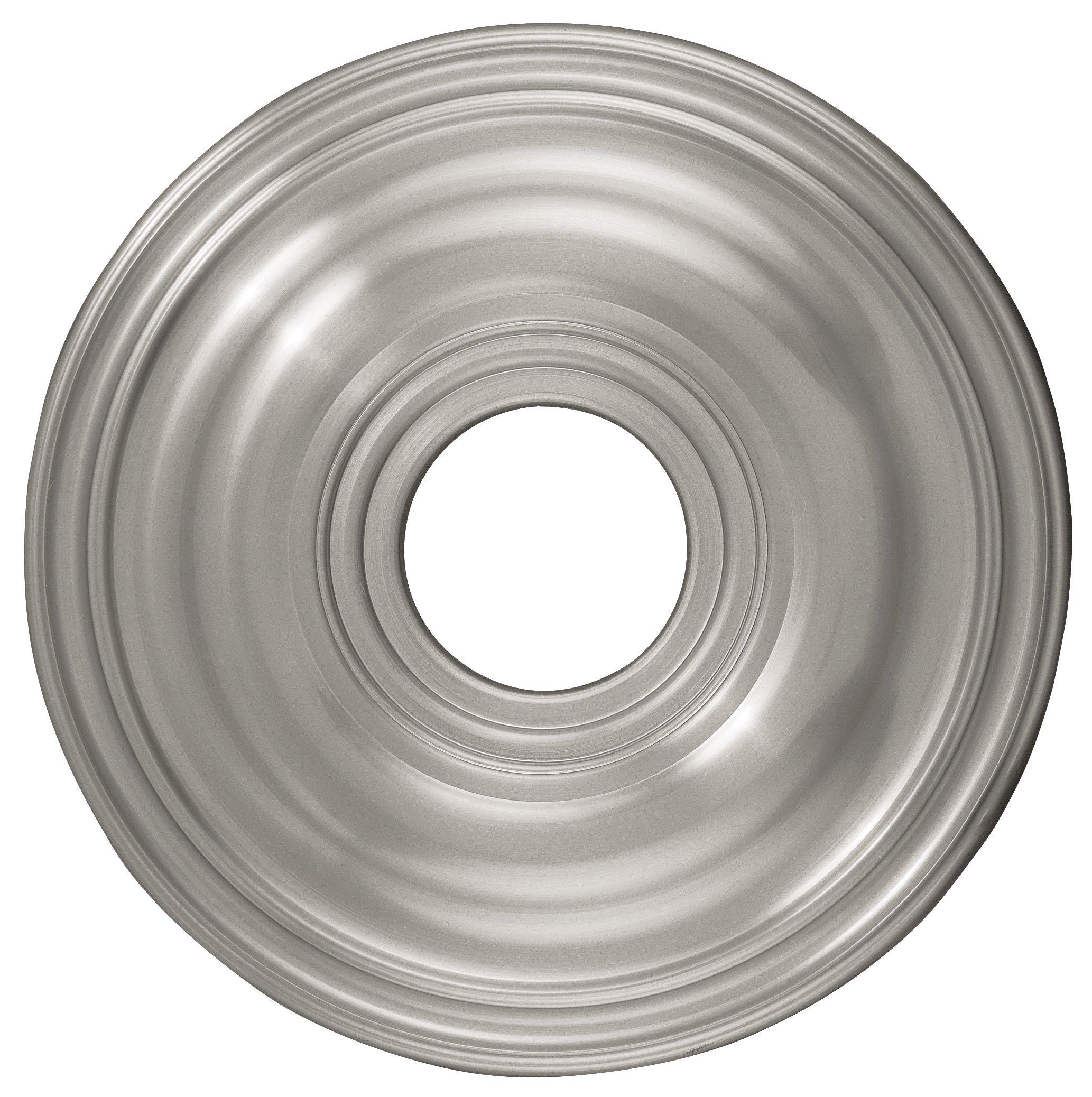 Livex Lighting 8217-91 Ceiling Medallion, Brushed Nickel