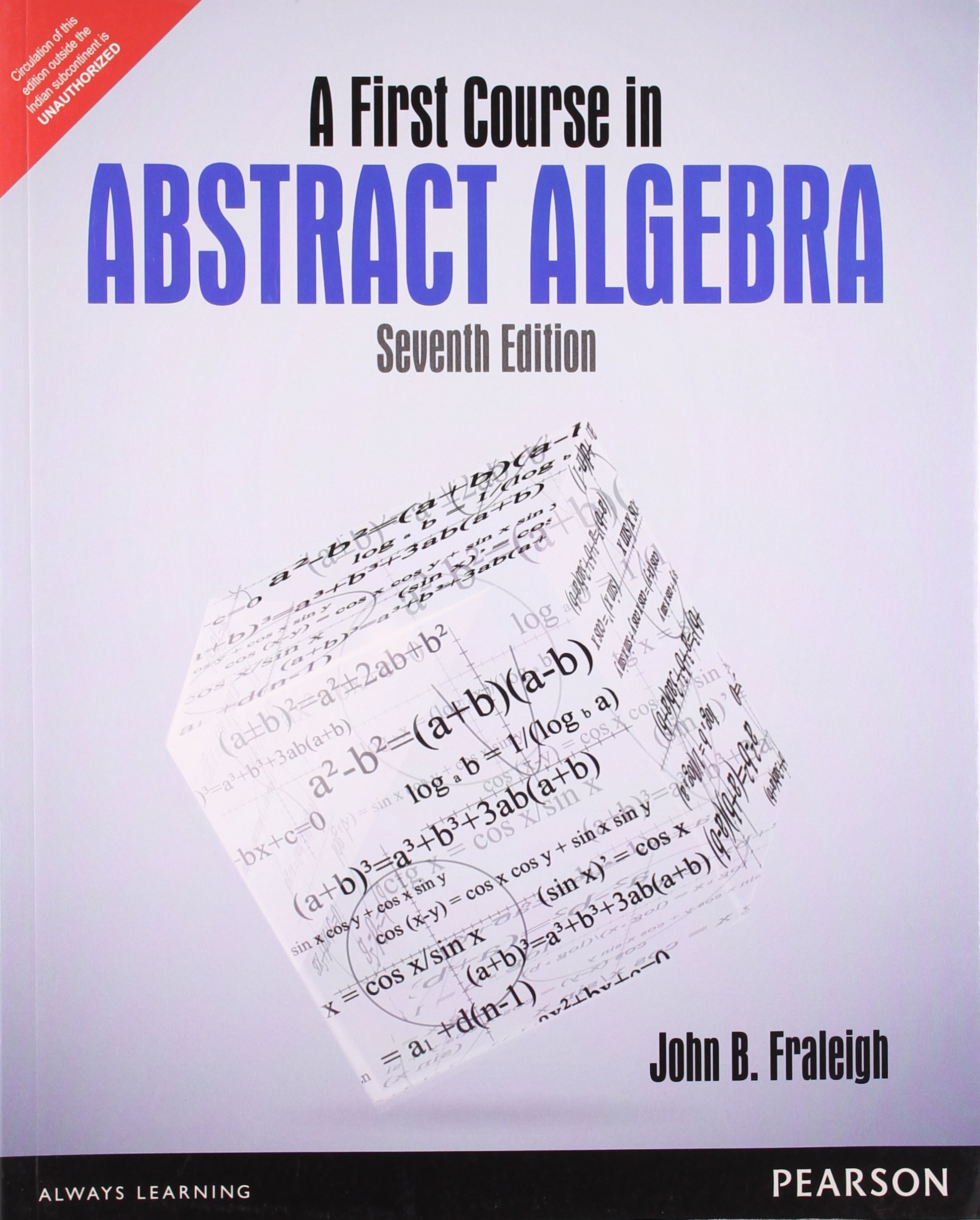 ABSTRACT ALGEBRA FRALEIGH DOWNLOAD