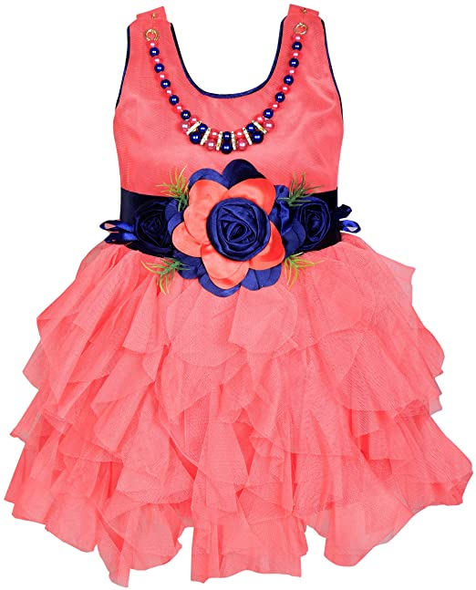 2f0751c9d Cute Fashion Kids Girls Baby Dress for Princess Satin and Sifone Net ...
