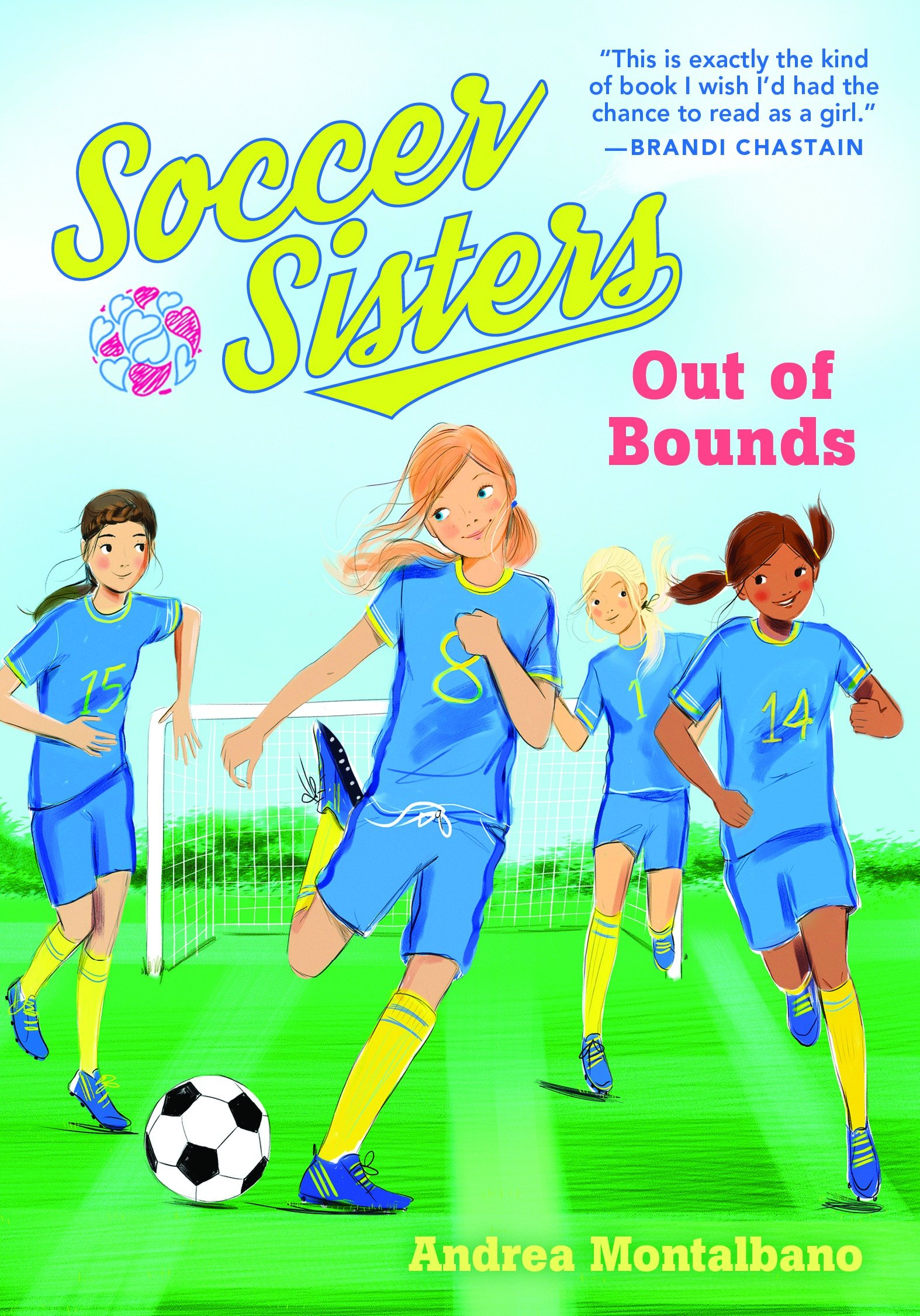 Out of Bounds (Soccer Sisters) pdf