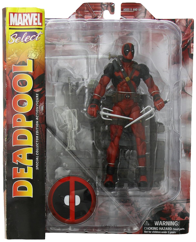Marvel Select Deadpool Action Figure Diamond Select Diamond Comic Distributors Comics & Graphic Novels Fiction