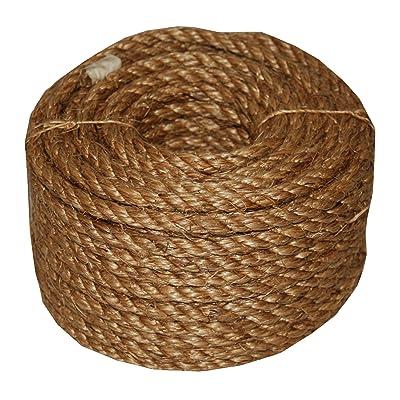 T.W Evans Cordage 26-003 1/2-Inch X 50-Feet 5-Star Manila Rope