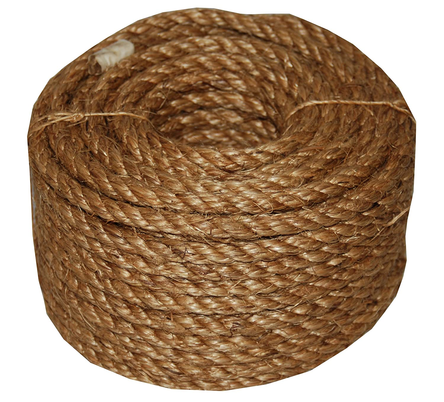 Evans Cordage Co. T.W Evans Cordage 26-066 3//4-Inch by 100-Feet 5 Star Manila Rope T.W