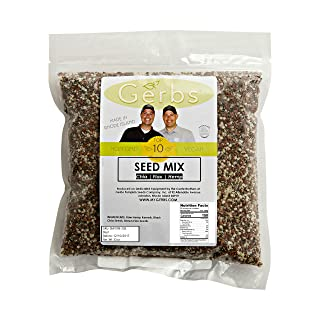 Hemp, Chia, Flax Seed Raw Mix by Gerbs - 2LBS - Top 12 Food Allergy Free & NON GMO - Vegan & Kosher – Made in USA (3 Seed Blend, 2LB)