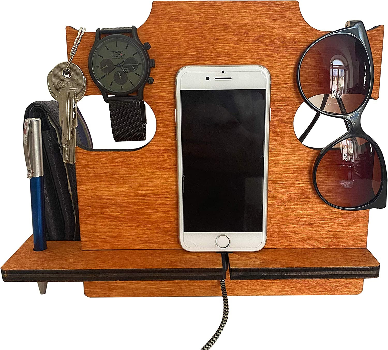 Regalo de cumplea/ños para Hombre Regalo para /él Regalo para Hombre de cumplea/ños Regalos de cumplea/ños para pap/á Trabajo LAC Estaci/ón de Acoplamiento para Marido iPhone