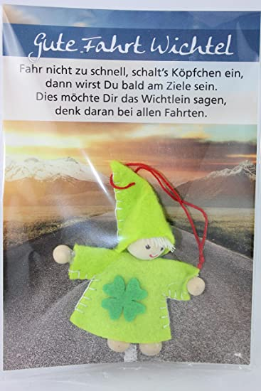 gute fahrt sprüche JoJo, Wichtel Arts, J023 022, Glückswichtel, Gute Fahrt Wichtel  gute fahrt sprüche