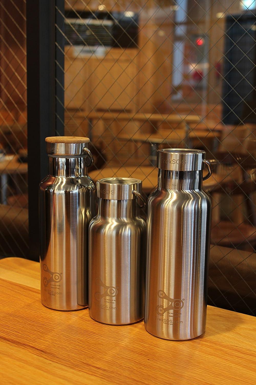 34 oz yongkang kangfute Treksos Insulated Stainless Steel Water Bottle Wide Mouth Vacuum Double Wall BPA Free 12 oz