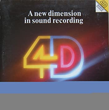Deutsche Grammophon - A New Dimension in Sound Recording 4D (sleeve