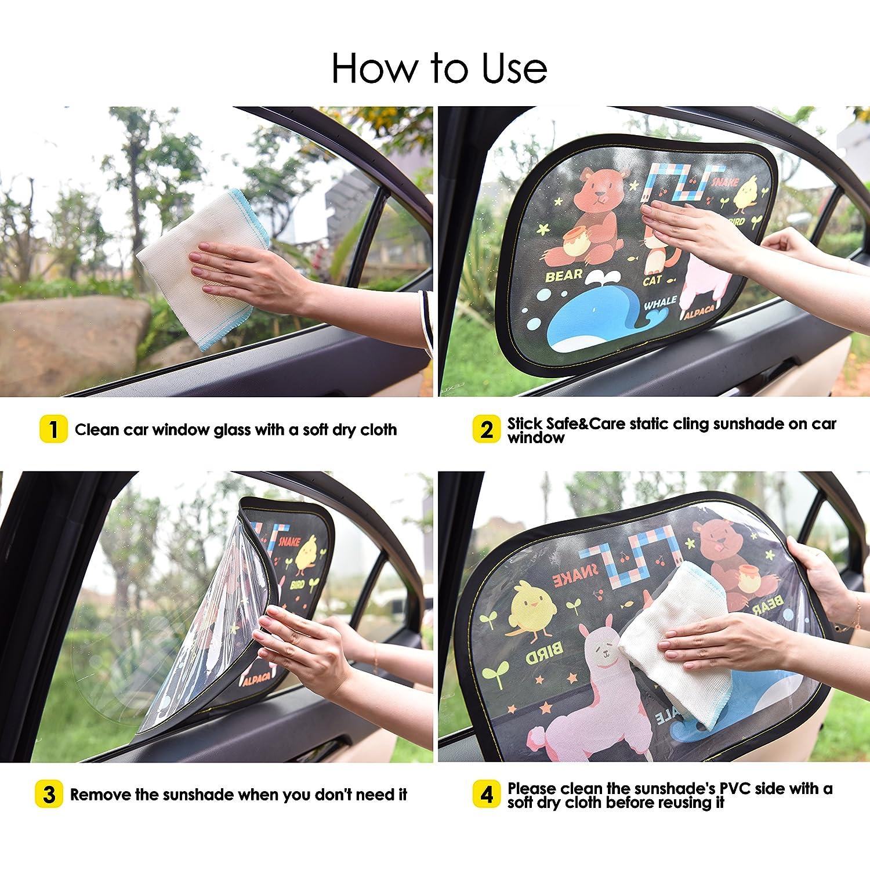 AUTO DRIVE CLING SUNSHADE