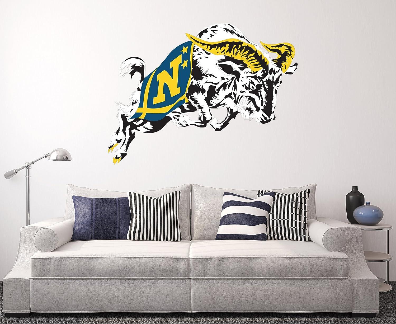 Navy Midshipmen Wall Decal Home Decor Art NCAA Team Sticker