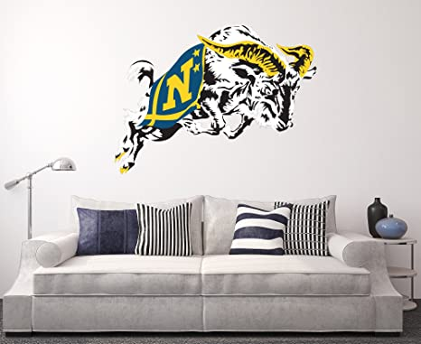 Amazon.com: Azul marino Wall Home Decor Art NCAA Team ...